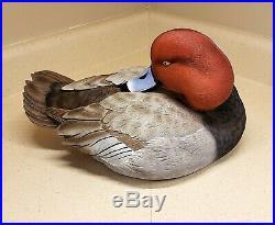 Jett Brunet 2019 Ducks Unlimited Decoy Redhead Duck Special Edition