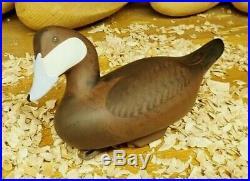 Jim Pierce of Havre De Grace Maryland Ruddy Duck Decoy