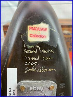 Jode Hillman Sleeping Black Duck Decoy, Exceptional Decoy, At His Best