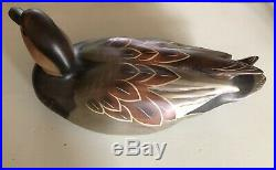John Gewerth Ducks Unlimited Medallion Coined Special Edition 2000-01 Decoy