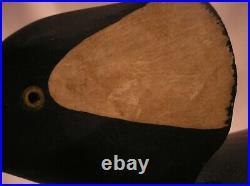 John Hamilton Northern Merganser Carved Decoy Cedar Run Barnegat Bay New Jersey