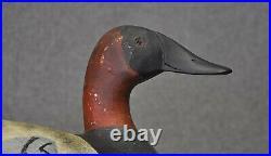 MIKE PAVLOVICH CANVASBACK DRAKE hunting duck decoy decoys original paint 1940's