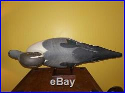 MINT Christmas Drake Sprig by R. Madison Mitchell HdG, MD Pintail decoy c1950