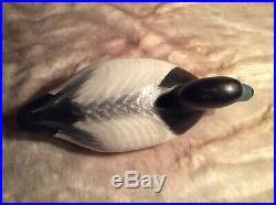 Madison Mitchell Signed/Dated OP Bluebill Decoy 1964