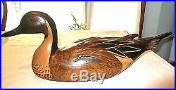Mallard (or possibly Pintail) Tom Taber Ducks Unlimited duck decoy