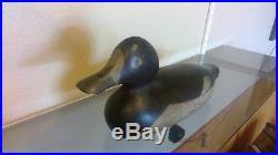 Mason Peye Bluebill Duck Decoy