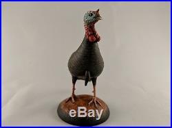 Miniature Wild Turkey Carving Eddie Wozny