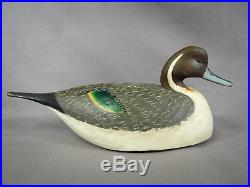 Nice Pintail Drake Decoy by Mark Daisey, Chincoteague VA Signed & Branded