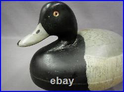 Nice Vintage Ken Harris Bluebill Duck Decoy Woodville, NY
