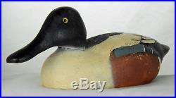 Northern Shoveler Drake Duck Wooden Decoy Herters 1893 Series