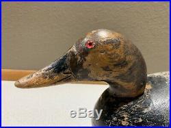 Old Vintage Wooden Duck Decoy MASON Canvasback Drake