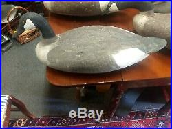 Old working decoy Madison Mitchell goose cork field geese rare sign 1964