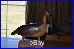 Outstanding Antique 1900/10 Yellowlegs Turn Head Original Paint Shorebird Decoy
