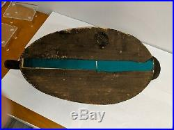 Oversize Black Duck Decoy Wildfowler Old Saybrook