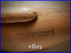 Pair 1980 Paul Gibson Blue -Winged Teal Duck Decoys Havre de Grace Maryland