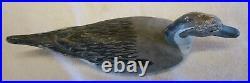 Pair Fresh Air Dick Janson Wooden Pintail Duck Decoys California