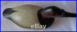Pair Old Wooden Premier Mason Canvasback Duck Decoys