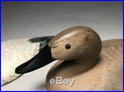 Pair Robert Bob Litzenberg Canvasback Sink Box Weight Duck Decoys Signed Iron