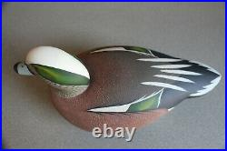 Pair of Chester River Widgeon Decoys by Mali Vujanic