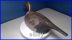 Percy Bicknell British Columbia Pintail Drake Duck Decoy