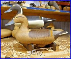 Pintail Decoys by Havre de Grace Maryland Carver Dave Walker