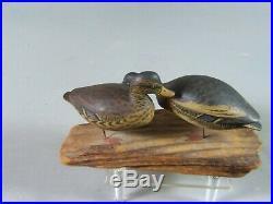 Pr. Elmer Crowell miniature mallard duck decoy East Harwich Mass. Ca. 1910