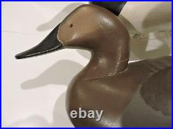Pr. Oversized Canvasback Decoys Madison Mitchell, Havre De Grace, Md. Decoy