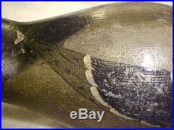 Pratt mammoth mallard decoy original paint carved beak