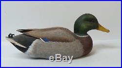 R. Takai Carved MALLARD Drake16.5 Duck Decoy (#6)
