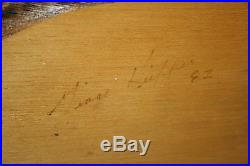 Rare 1982 George Kieffer Hand Carved Painted Mallard Duck Hen Drake Wood Decoys