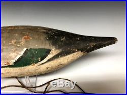Rare Mason Pintail Duck Hunting Decoy Decoys Wood Antique Vintage 1920s