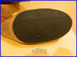 Rare Pr Unrigged 1946 Bluebill Decoys David W. Nichol Smiths Falls, Ontario