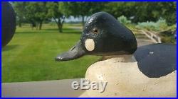 Rare Vintage Ben Schmidt (1884-1968) Drake Goldeneye Duck Hunting Decoy