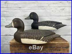 Rigmate Pair Reg Bloom Nichol School Smith Falls Bluebill Duck Decoys Excellent