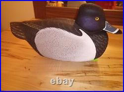 Ringneck Duck Decoy By Bill Moore Of New York