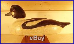 Robert Addison SPUD Norman (1854-1952) Picton, Ontario Whistler duck decoy