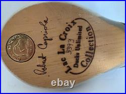 Robert Capriola Ducks Unlimited Blue Bill Decoy Lac La Croix