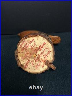 Ron Kurkewitch Carved Shorebird Decoy- Beach Haven, LBI N. J