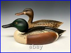 SALE! Marty Hanson Hollow Shovelor Pair Duck Hunting Decoys Decoy Wood Carved MN