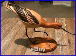 SALE Tom Taber/John Fairfield Stunning Rare AVOCET Decoy Sculpture