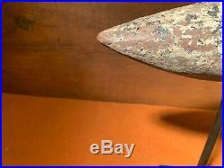Shorebird Decoy, Late 1800s