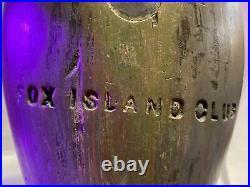 Stevens Weedsport NY Blue Bill Hen Ca. 1890 DUCK DECOY Fox Island Club