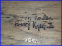 Tom Taber & Hersey Kyle, Jr. Mute Swan Full Size Wooden Decoy