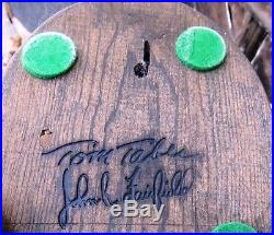 Tom Taber John Fairfield Carved Quail
