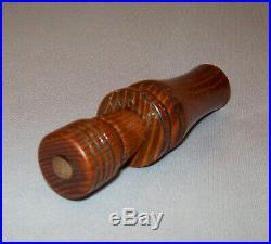 Very Nice Old Vtg Thurman McCann The Delta Mallard Wooden Wood Duck Call Scarce