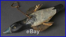 Vintage 7 Mallard Duck Ice Fish Spearing Decoy Fishing Lure