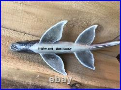 Vintage Andrew Gardner Blue-Sucker Decoy 7 3/4 Inches Long