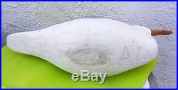 Vintage Charlie Birdsall Seagull Decoy Point Pleasant N. J
