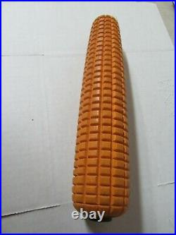 Vintage Cobb Corn Decoy Factory wooden ear of corn decoy