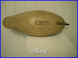 Vintage Decoy Rhodes Truex Merganser Duck Pair Circa 1925